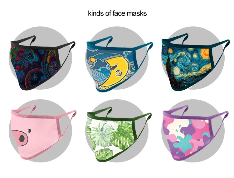 Kinds of Half Face Masks