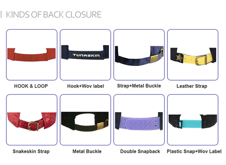kinds of back closure