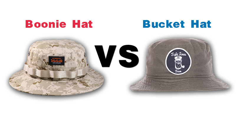 Boonie Hat vs Bucket Hat
