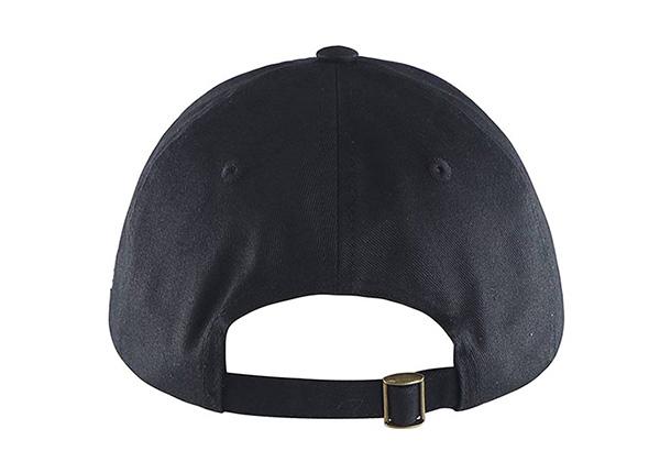 Back of Custom Vintage Strapback Baseball Cap
