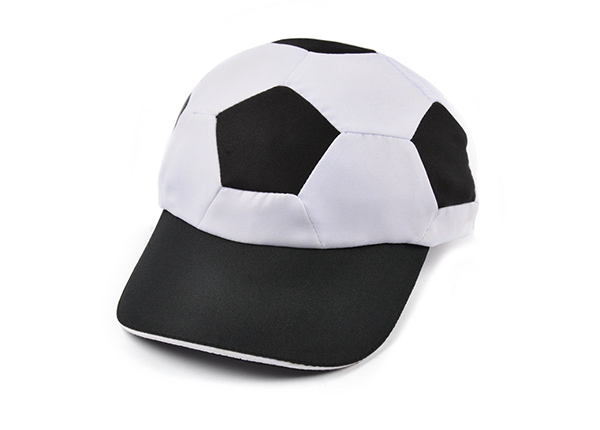 Custom Game Baseball Hats Black Fitted Football Cap