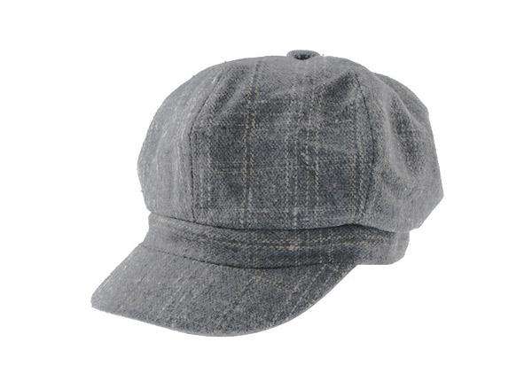 Wool Fitted Baseball Caps Custom Grey Hats
