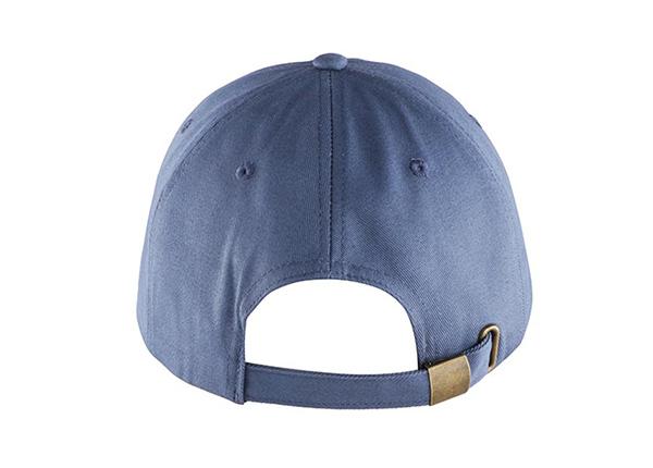Back of Custom Blue Adjustable One Size Fits All Baseball Cap