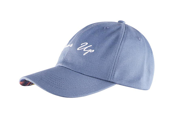 Slant of Custom Blue Adjustable One Size Fits All Baseball Cap