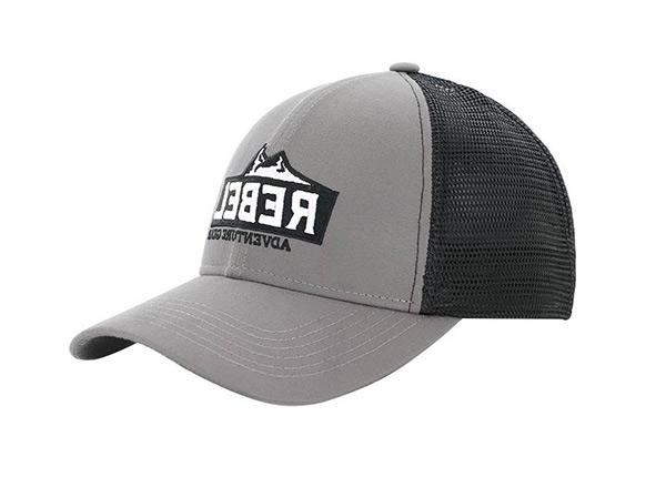 Slant of Vintage Old School Baseball Trucker Hat