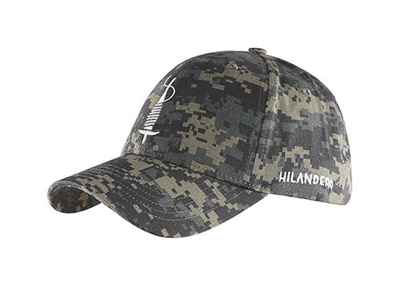 Slant of Custom Military Baseball Cap With Embroidered Logo