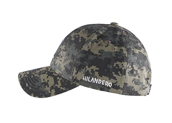 Side of Custom Military Baseball Cap With Embroidered Logo