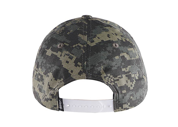 Back of Custom Military Baseball Cap With Embroidered Logo