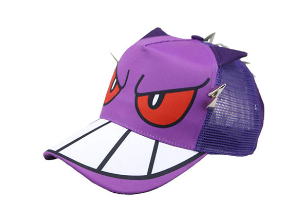 Slant of Purple Kids Cool Fitted Baseball Cap