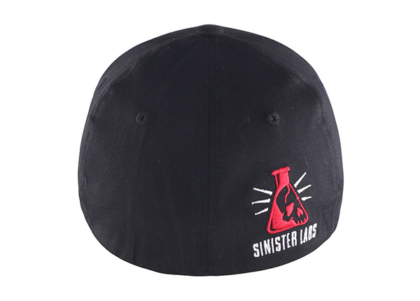 All Black Fitted Baseball Cap