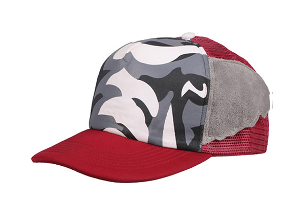 Baseball Cap With Wings On the Sides Custom Camo Caps