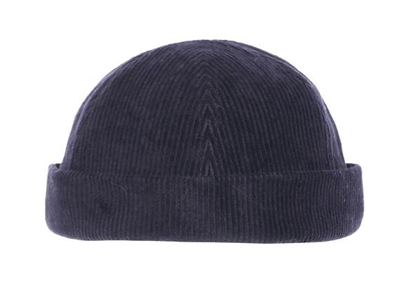 No Bill Baseball Cap Custom Corduroy Brimless Hats