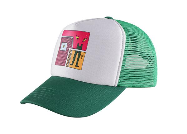 Slant of Custom Foam Trucker Baseball Hat