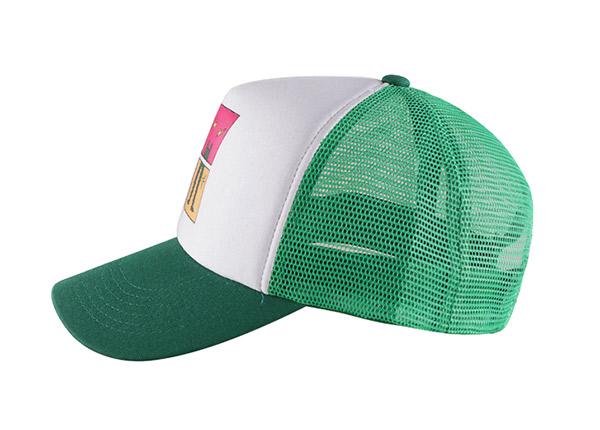 Side of Custom Foam Trucker Baseball Hat