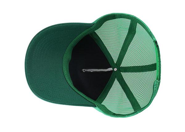 Inside of Custom Foam Trucker Baseball Hat