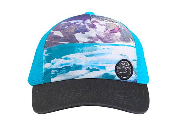 Front of Hawaiian Baseball Cap With Mesh Back Hat