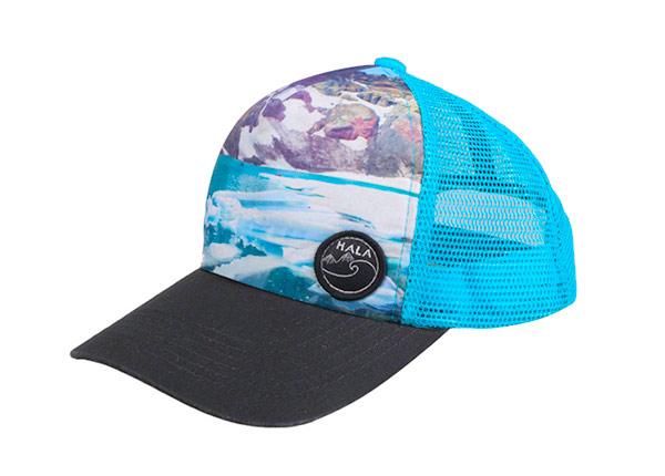 Slant of Hawaiian Baseball Cap With Mesh Back Hat