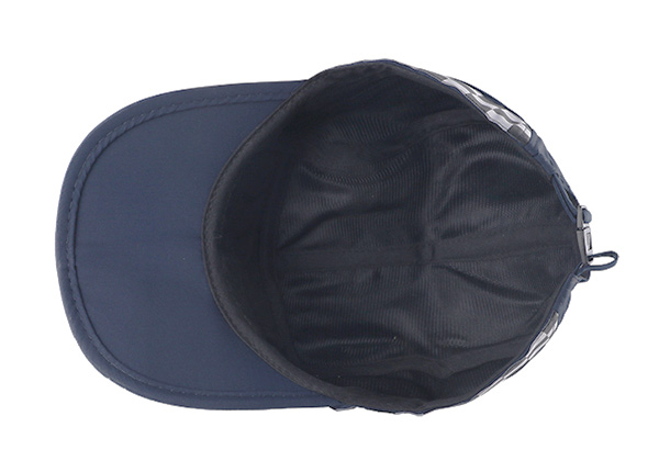 Inside of Low Profile Curved Brim 5 Panel Hat