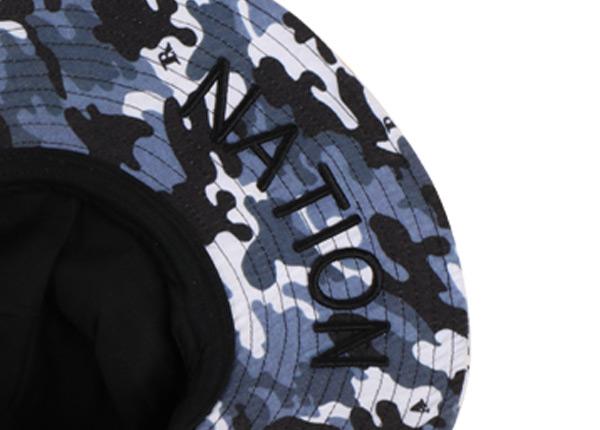 Logo of Camo Bucket Sun Hat with Wide Brim