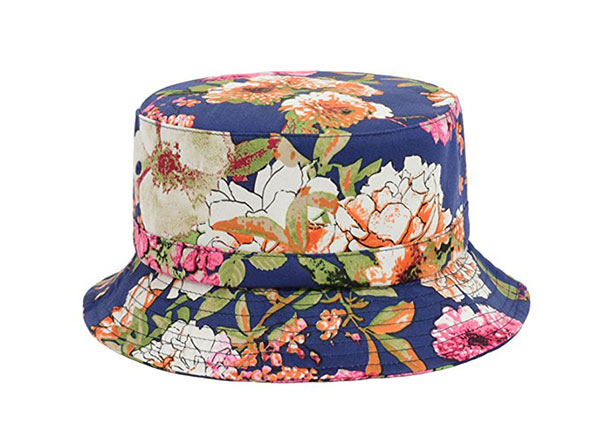 Colorful Bucket Hats Custom Floral Print Bucket Hat For Sale
