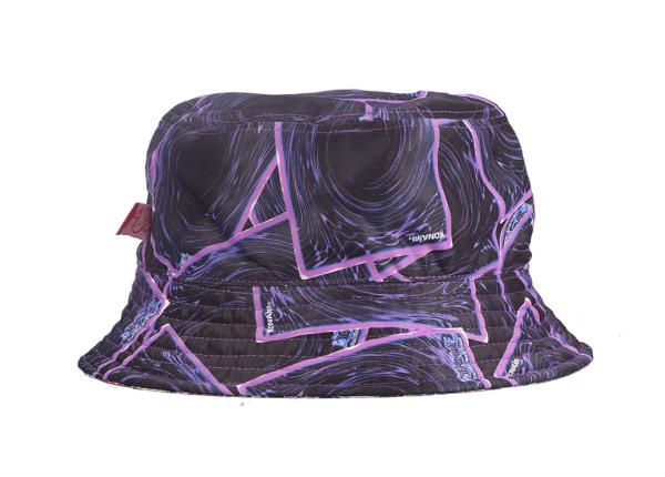 Back of Cotton Cloth Fancy Bucket Hat