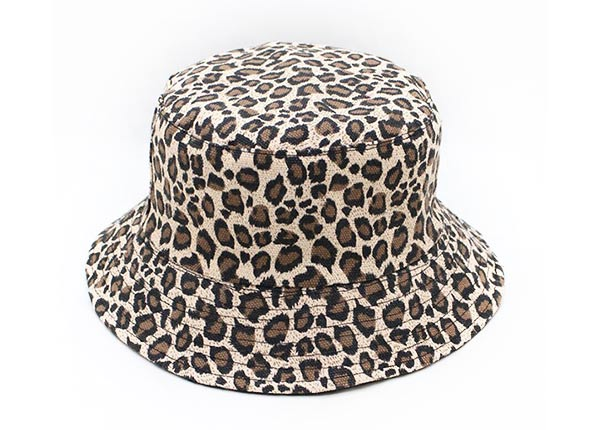 Leopard Bucket Hat Cheetah Print Bucket Hat For Mens or Womens