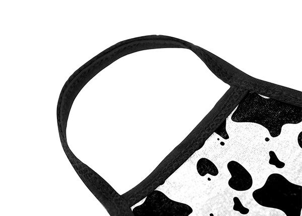 Earloop of Cotton Cow Pattern Kawaii Face Mask