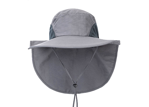 Safari Hat With Neck Flap Blank Desert Bucket Hat With Neck Cover For Sun Protection
