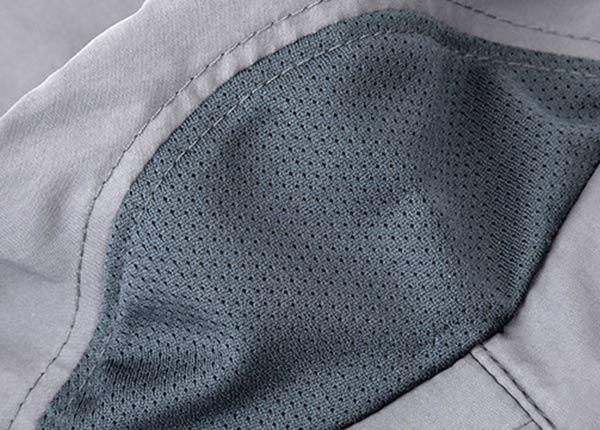 Mesh Fabric of Blank Desert Safari Bucket Hat With Neck Flap