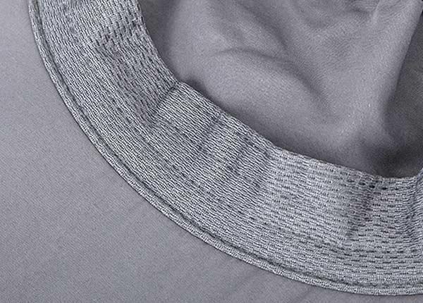 Sweatband of Blank Desert Safari Bucket Hat With Neck Flap