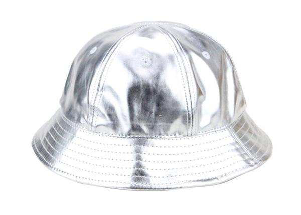 Reflective Bucket Hat 6 Panel Blank Waterproof PU Bucket Hat