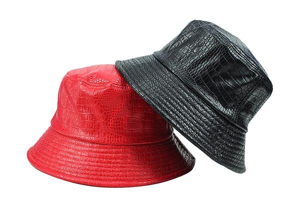 Overview of Red Blank Waterproof Bucket Hat